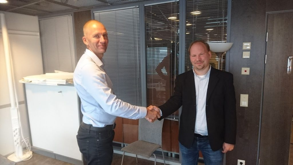 Fiare's new Product Manager - CEO Tommi Heikkonen welcomes Jan Bechstein